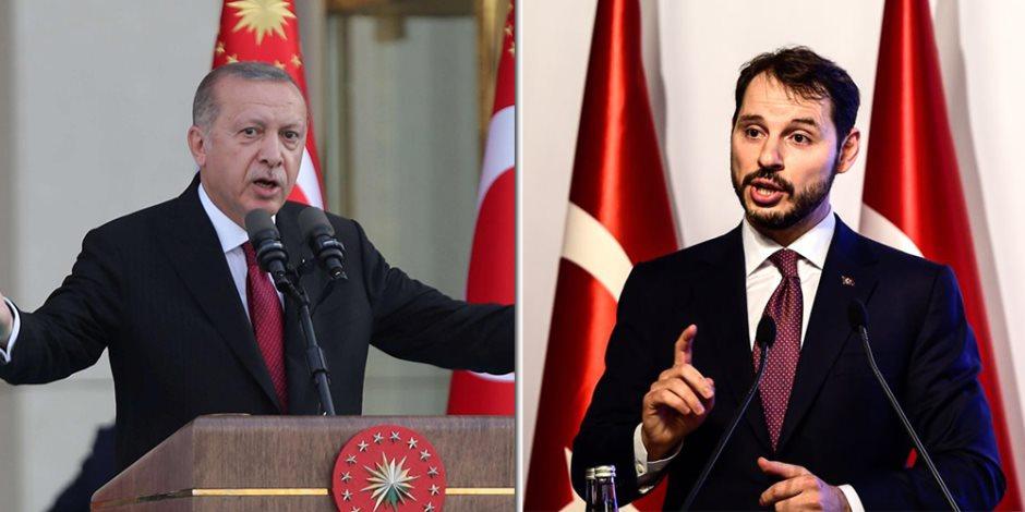 صهر أردوغان خربها.. كيف زادت إجراءات وزير المالية التركي من الأزمة الاقتصادية في أنقرة؟