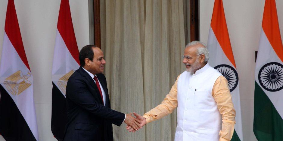مصر والهند علاقة ضاربة في العمق تتكلل بزيارة «مودي» للقاهرة