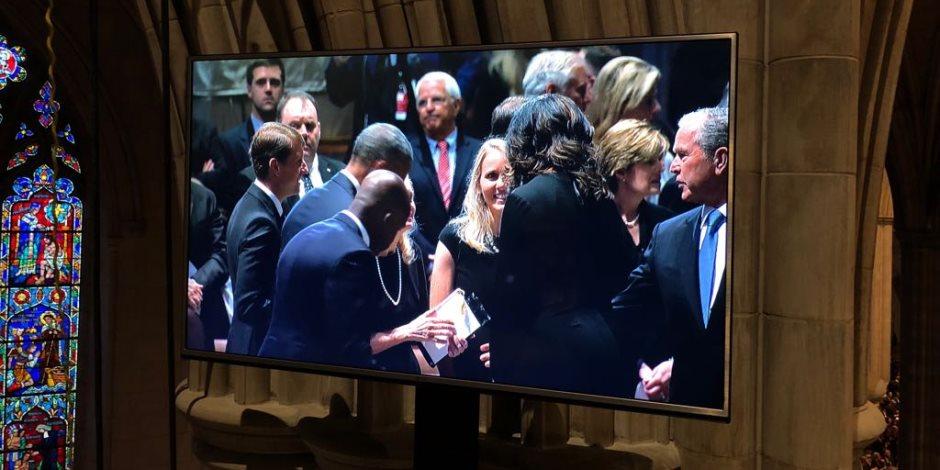 رغم حضور أسرته.. لماذا غاب ترامب عن حفل تأبين السيناتور الأمريكي جون ماكين؟