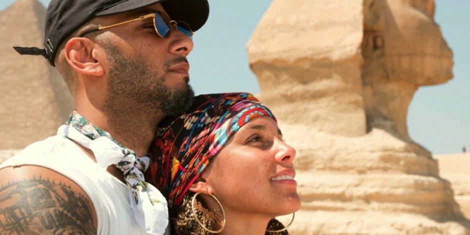 """المغنية العالمية """"أليشيا كايز"""" تحقق أمنيتها أخيرا.. تزور """"مصر"""" وتتعلم """"العربية"""""""