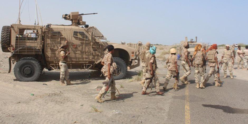 انتصارات متتالية للجيش اليمني.. تدمير طائرة مسيرة وتحرير جبل «الأذناب»