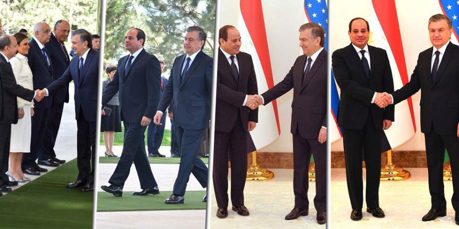 الكلمة الكاملة للسيسي في مؤتمر أوزباكستان: الاتفاقيات تسهم في تقارب عظيم بين البلدين
