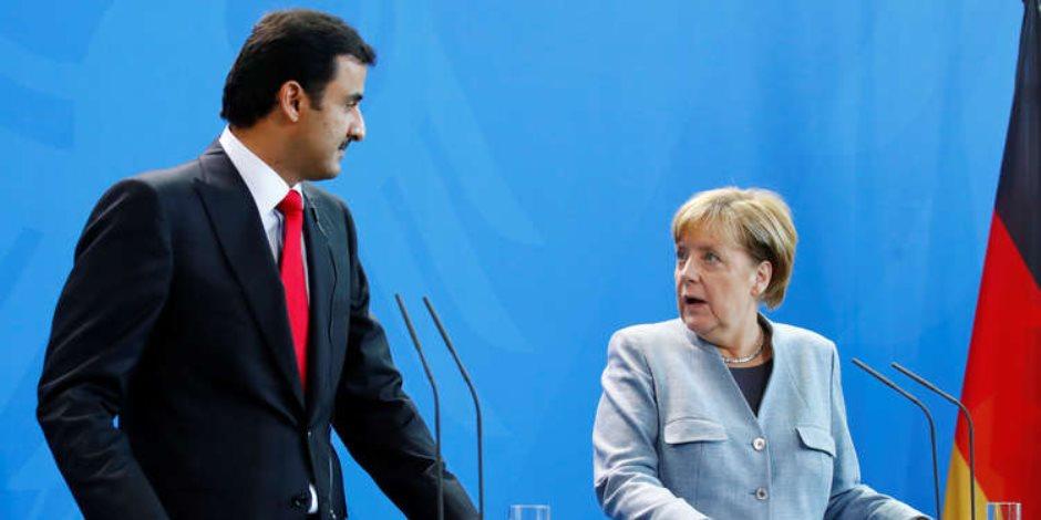 الحمدين خيال المآتة.. سر الاستثمارات القطرية في ألمانيا وعلاقتها بالديكتاتور التركي