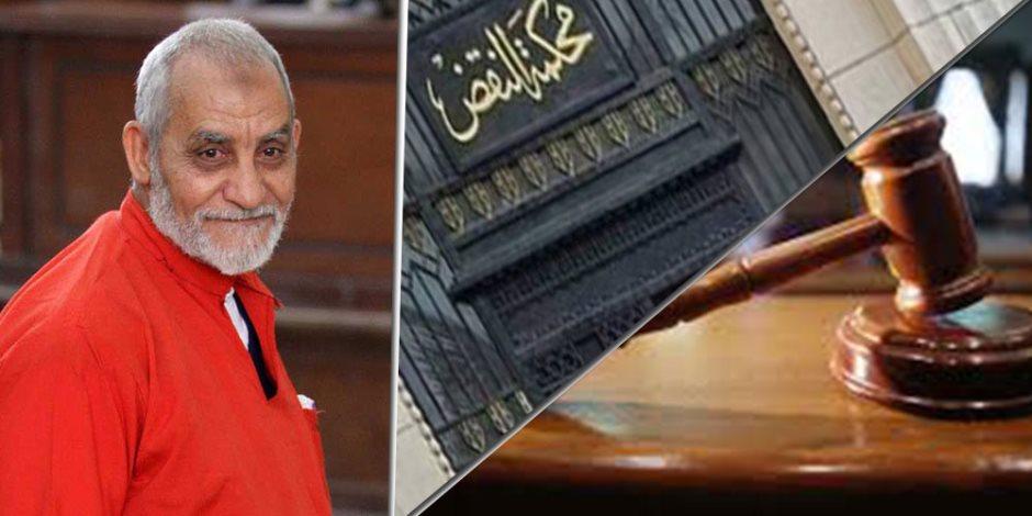 11 محطة في محاكمة مرشد الإخوان بـ«أحداث مكتب الإرشاد» (التفاصيل الكاملة)