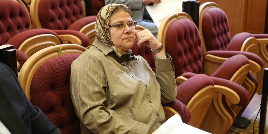 النائبة شيرين فراج: أصبت بكورونا بسبب مخالطة قيادات وزارة الصحة