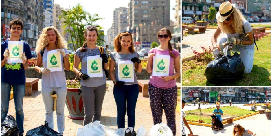 مؤسسة شباب بتحب مصر تواصل الريادة في مجال حملات النظافة بالتعاون مع شركائها (صور)