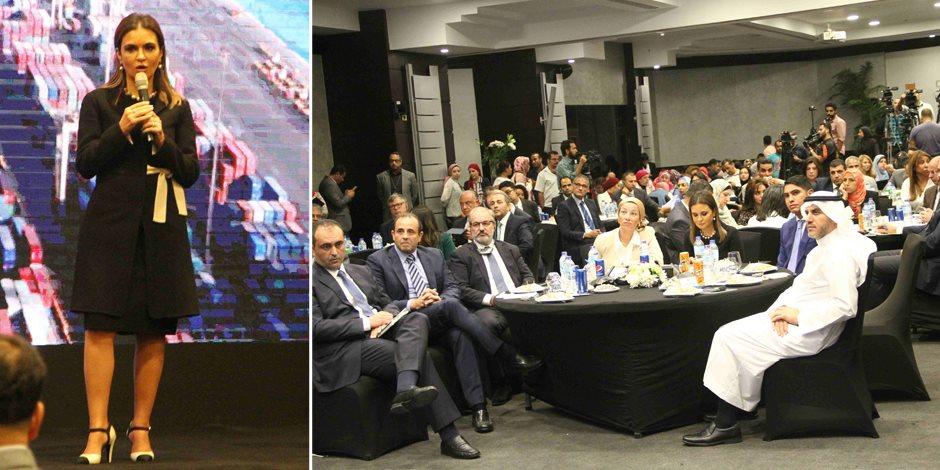 تعرف على رسائل سحر نصر الـ 13 لأكبر 25 شركة أجنبية فى مصر