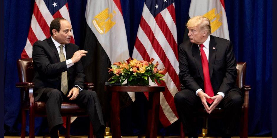 الرئاسة: السيسي يزور واشنطن في الأسبوع الثاني من أبريل تلبية لدعوة ترامب