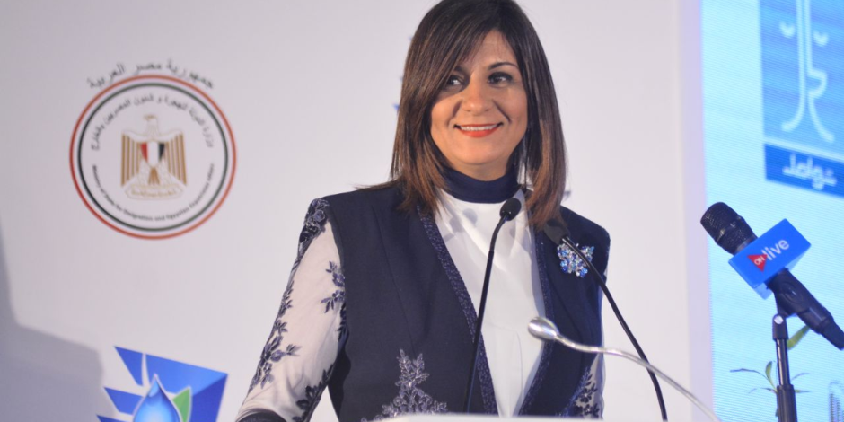 وزيرة الهجرة تثمن إقبال المصريين الكبير في أول أيام الاستفتاء على الدستور بالخارج (فيديو)