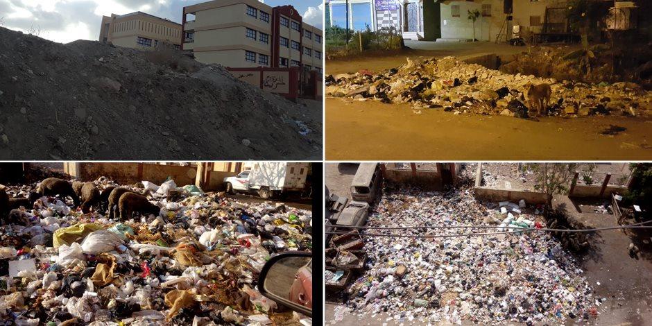 انتشار القمامة صداع المصريين.. والحكومة تتعاقد مع 4 شركات لتنظيف العاصمة