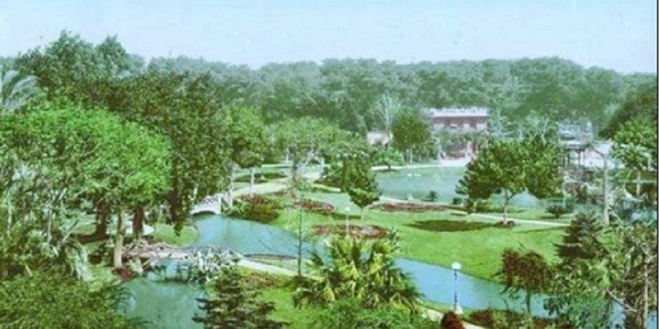إنقاذ حديقة الأزبكية.. ماذا تعرف عن العتبة الخضراء وما قصة العتبة الزرقاء؟