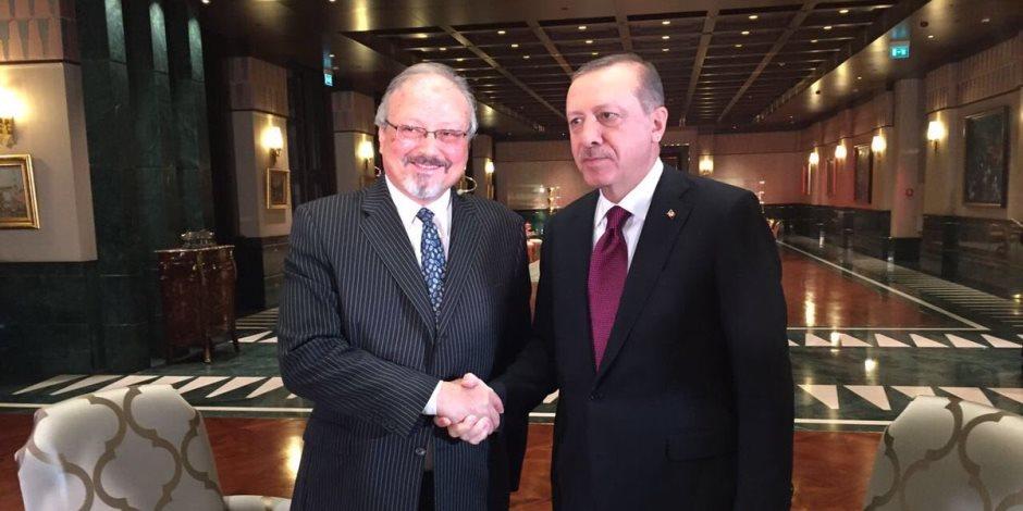 «كلاكيت 1000 مرة» أردوغان يتحدث عن مقتل «خاشقجي».. وخبراء سعوديون: «بيحب الأكشن»