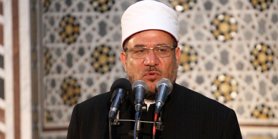 وزير الأوقاف يدعو كل من نوى الحج التبرع لعلاج المرضي