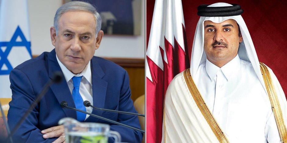 قطر تقدم نتنياهو بوجه حمامة السلام.. تقتل القضية الفلسطينية وتطعن الضفة في الظهر