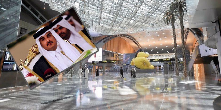 كورونا يعمق الجراح.. قطر تسرح 40% من العاملين في مطار حمد الدولي