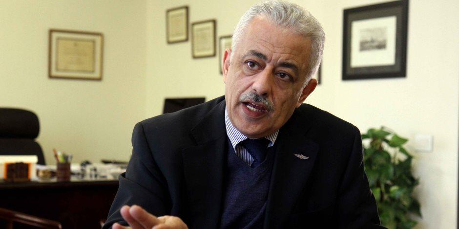 التابلت ببلاش.. طارق شوقي يرد على شائعة دفع الطلاب ثمن تقنية التعليم الجديدة (فيديو)
