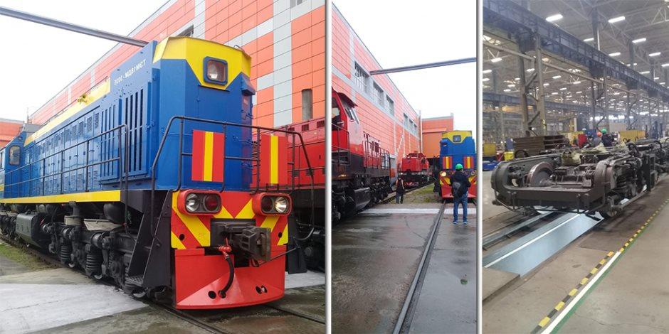 وصول دفعة عربات سكة حديد جديدة قادمة من روسيا إلى ميناء الإسكندرية