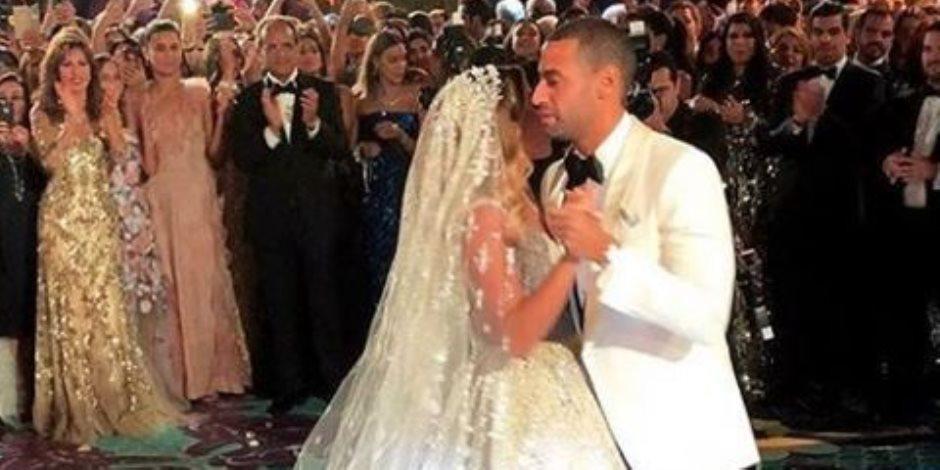 حفل زفاف الحاذق وشتا يحول أسوان إلى كرنفال (صور)