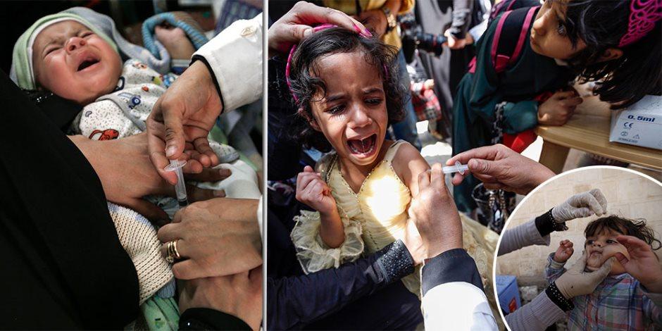 بالمجان.. حملة التطعيم ضد شلل الأطفال الثانية مستمرة حتى 31 مارس