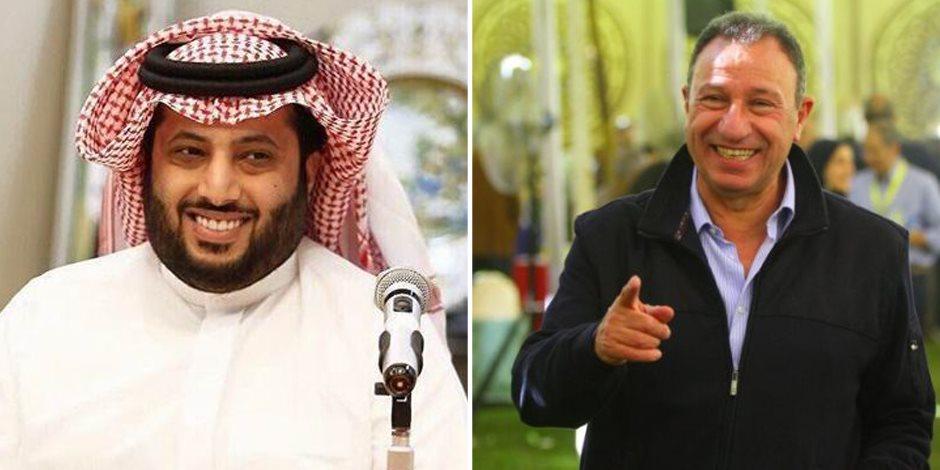 الخطيب يشكر تركي آل الشيخ.. ويؤكد على العلاقات التاريخية بين مصر والسعودية