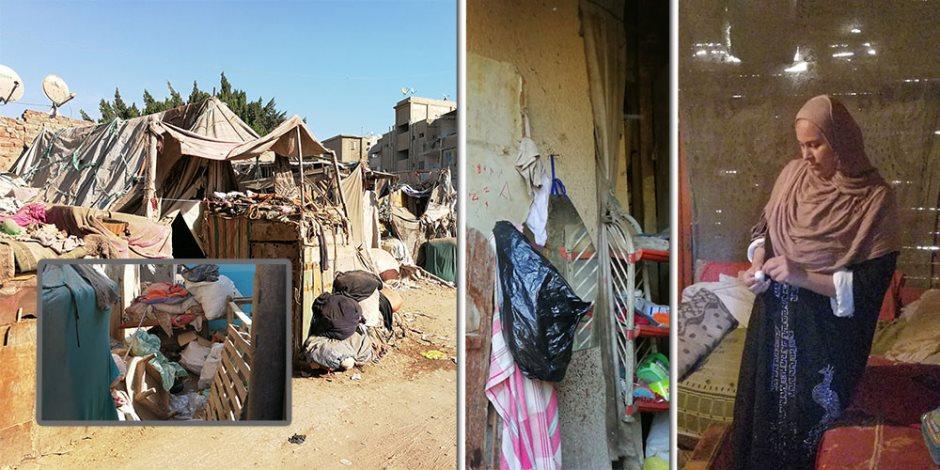 سكان «عشش المحلة»: السقف خشب.. والحمام «جردل» (صور)