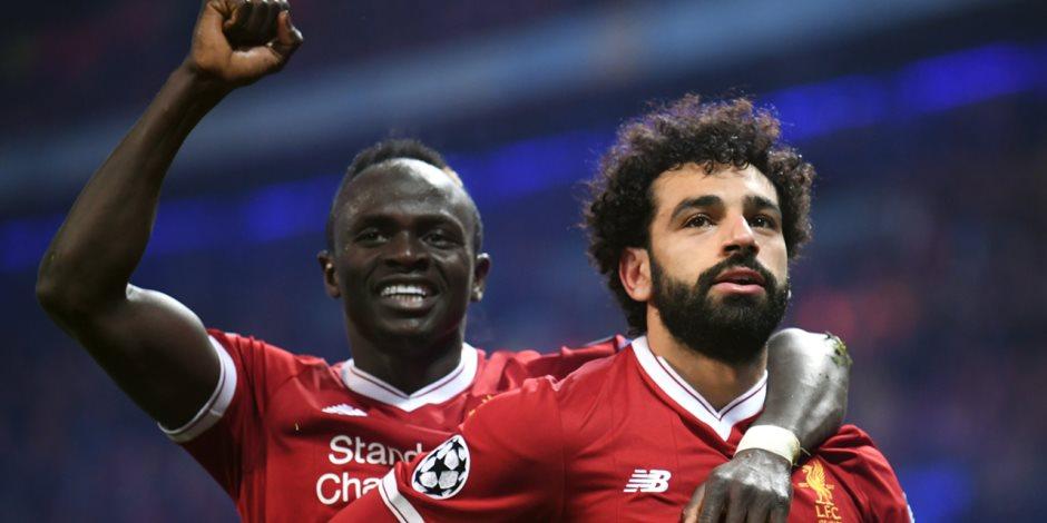 محمد صلاح ومانى وجوتا فى هجوم ليفربول ضد أياكس بدوري أبطال أوروبا