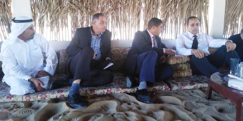 سيناء على خط التنمية ..«شوشة» يتابع مشروعات قرية الروضة تمهيدا لافتتاحها (صور)