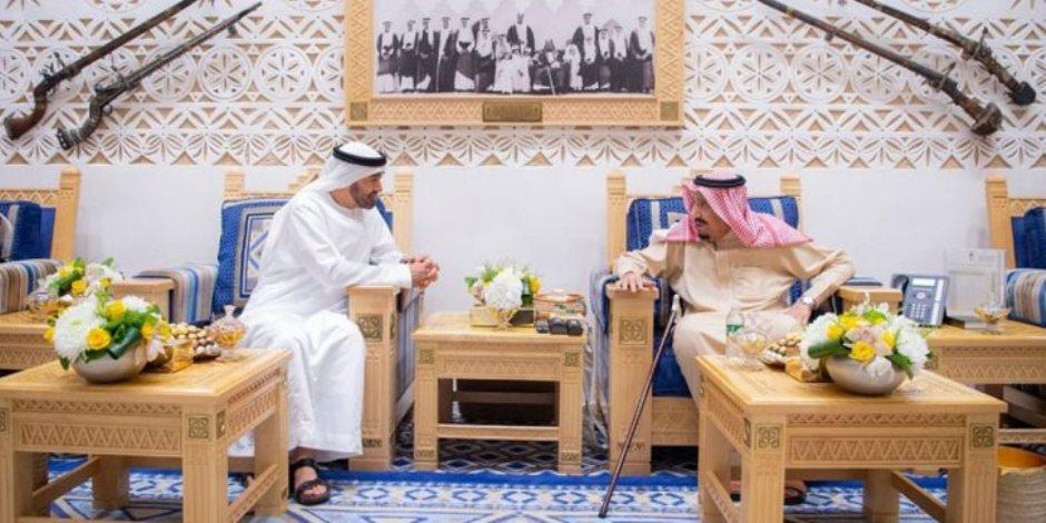 لقاء الأشقاء.. ولي عهد أبو ظبي في ضيافة خادم الحرمين الشريفين لدحض الأكاذيب القطرية