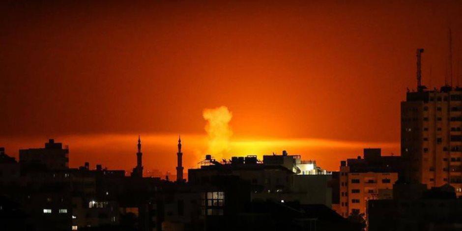 سقوط 6 شهداء فلسطينيين في غارة لقوات الاحتلال الإسرائيلي جنوب قطاع غزة