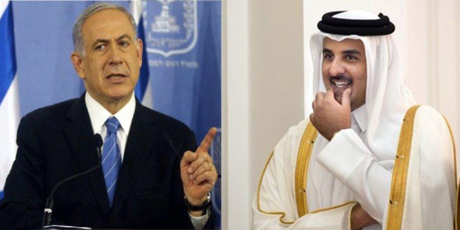 قطر تطعن الفلسطينين بخنجر التطبيع.. «الحمدين» يستعين بجيش الاحتلال لحماية الإمارة