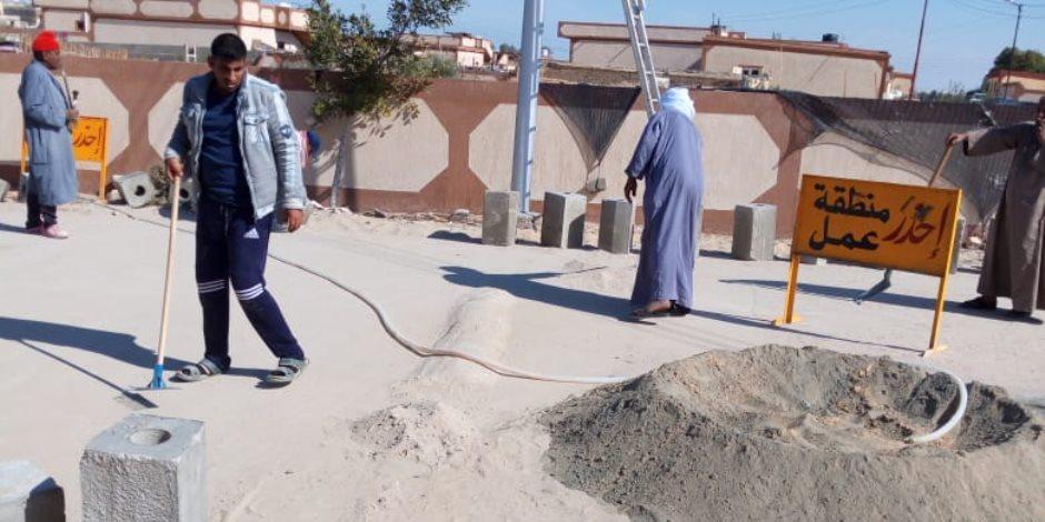 بحضور عدد من الوزراء.. محافظ شمال سيناء يفتتح غدا مشروعات إعمار قرية الروضة (صور)