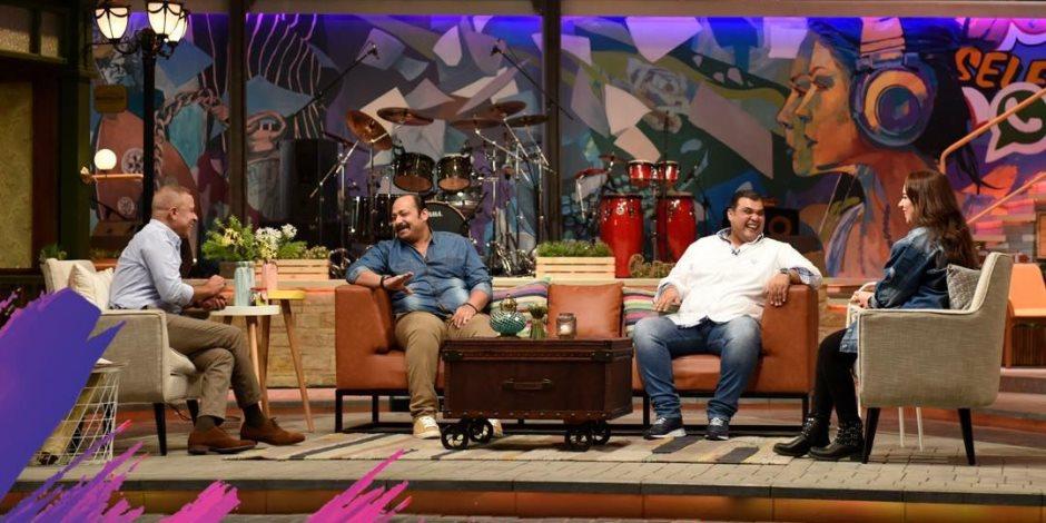 أحمد فتحى لـ«شريف منير وبنته»: «تمنيت أن أكون مشهور زي محمد هنيدى»