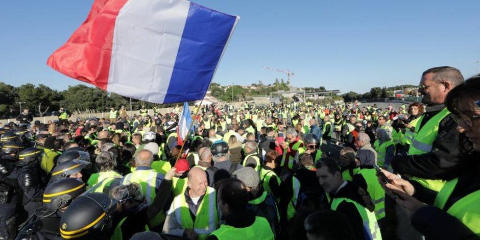 سر عدم تبني أى قوى سياسة للاحتجاجات.. بماذا يطالب أصحاب «السترات الصفراء» في لبنان؟ (صور)