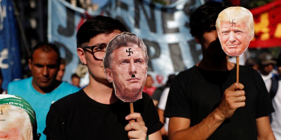من انهيارات أرضية في ألاسكا إلى احتجاجات الأرجنتين.. أبرز أحداث الساحة العالمية