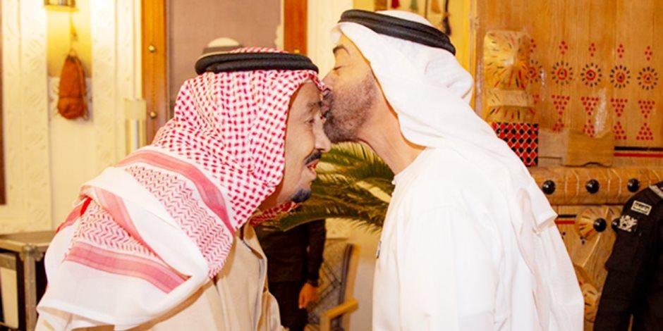 في ذكرى البيعة.. هكذا هنأ محمد بن زايد الملك سلمان بن عبد العزيز