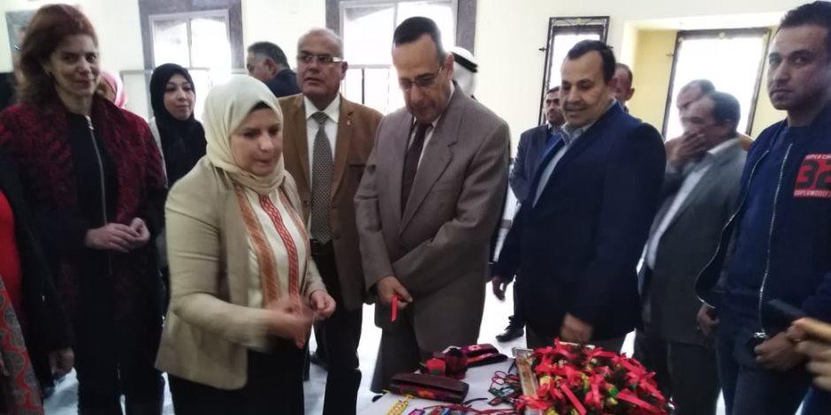 «شوشة» يوجه الجمعيات الأهلية في شمال سيناء بالاهتمام بالمشروعات الصغيرة (صور)