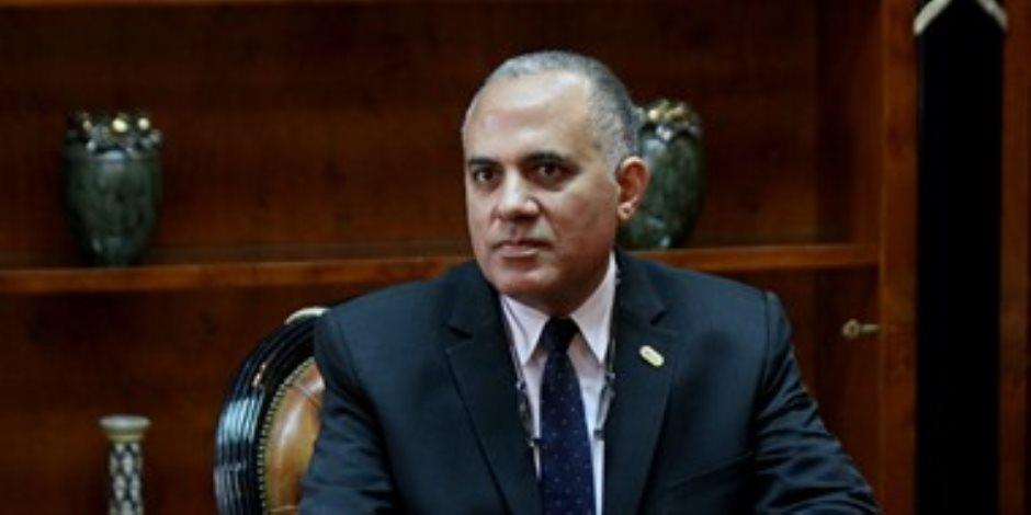 وزير الري والموارد المائية: مصر ستكون أكبر دولة فى العالم لإعادة استخدام المياه