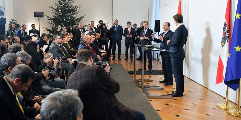 مكاسب بالجملة لأوروبا وأفريقيا.. تأييد حزبي لزيارة الرئيس السيسى للنمسا