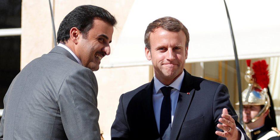 الرئيس الفرنسي يرفض هدايا أمير قطر.. هكذا فضحت الصحافة الفرنسية تنظيم الحمدين
