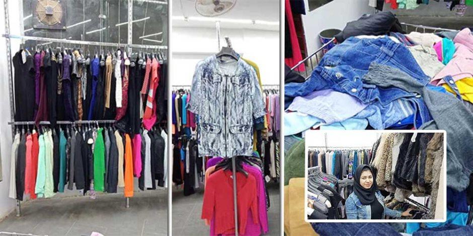الهدوم بالكيلو في الصعيد.. ماذا قال الأهالي عن أسعار وماركات الملابس (فيديو وصور )