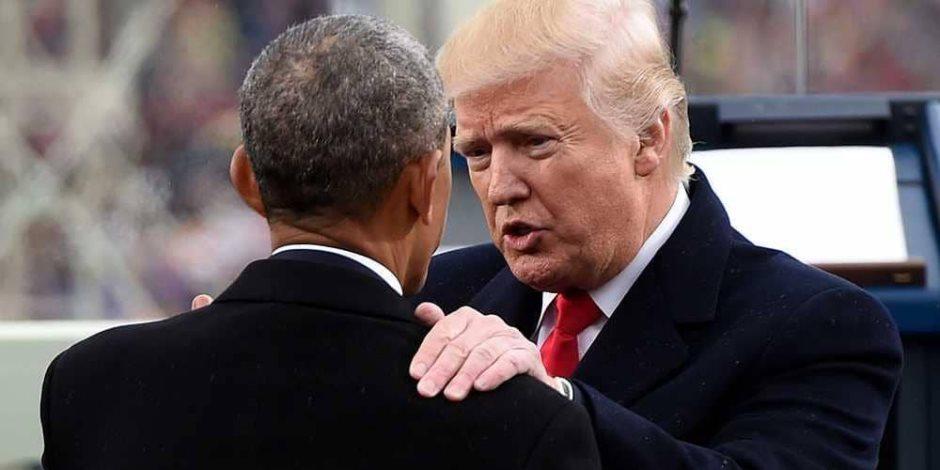 «اختارهما الرب».. وزير أمريكي يتحدث عن «ترامب و أوباما»