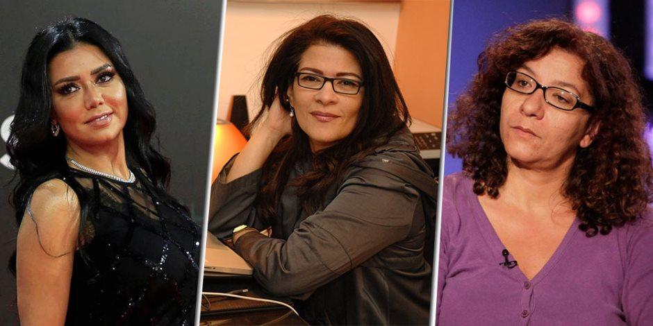 """نساء الفتنة.. من """"بطانة"""" رانيا يوسف إلى """"شطحات"""" فاطمة ناعوت"""
