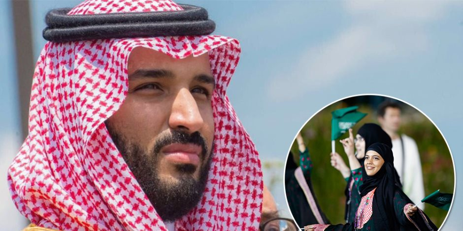 محمد بن سلمان يحطم التابوهات.. المرأة السعودية بين الأرض والجو