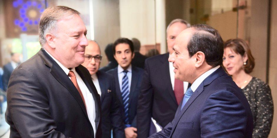 واشنطن: جهود السيسى لتعزيز الحرية الدينية مثالا يحتذى لجميع قادة وشعوب الشرق الأوسط