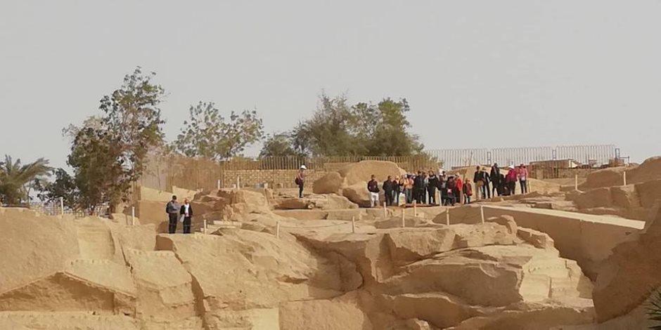 عودة السياحة تنعش المزارات الأثرية بأسوان بعد شهور التوقف.. والعائلات أبرز الضيوف (صور)