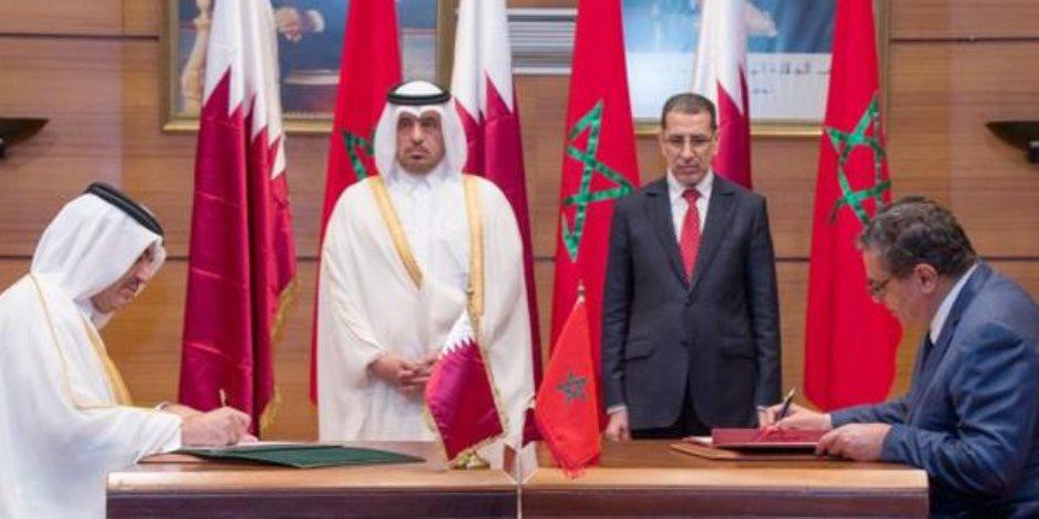 خطة قطر الشيطانية لتفكيك الصف المغربي بتوفير الدعم لجبهة البوليساريو الانفصالية
