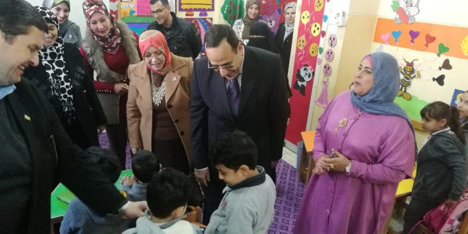 قرارات صارمة لمحافظ شمال سيناء مع عودة الدراسة: إعفاء مدير مدرسة الأبرز