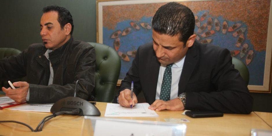 يوسف أيوب يقدم أوراق ترشحه في انتخابات «الصحفيين»: النقابة تحتاج مجلسا قويا (صور)