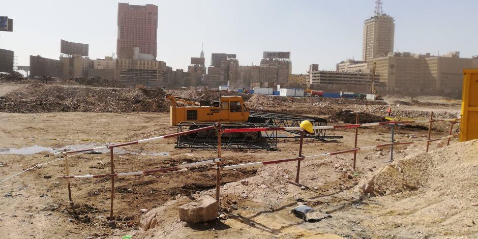 مثلث ماسبيرو.. كورونا لم تؤثر على أعمال البناء وأهالي المنطقة يعودون قريبا في 3 أبراج