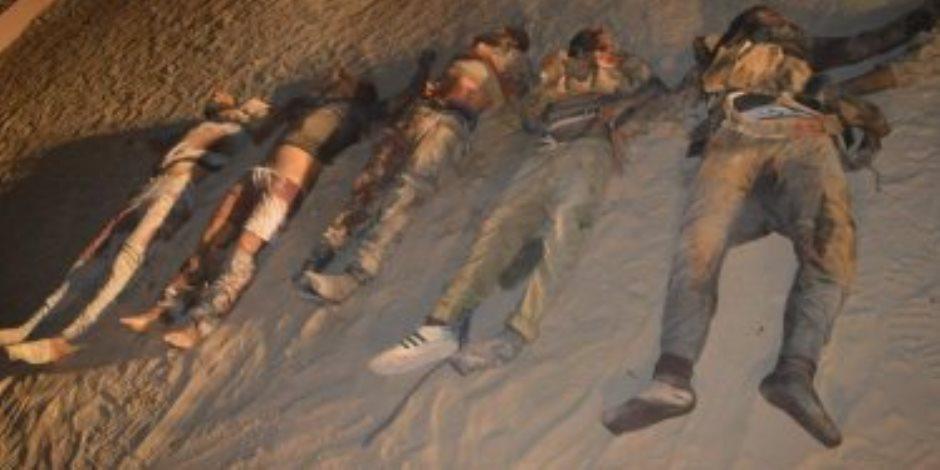 الداخلية تقتص لشهداء الدرب الأحمر وسيناء.. مقتل 16 إرهابيا في العريش